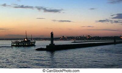 Sundown in Kadikoy, Istanbul