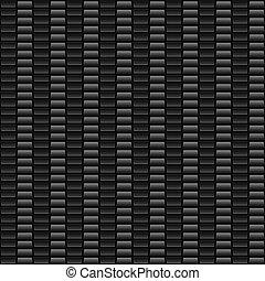 Seamless Gray Carbon Fiber - Gray woven carbon fiber...