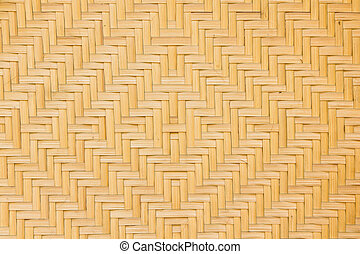 Bamboo Basketry - Texture of Bamboo Basketry