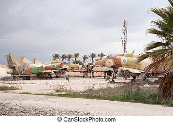 A-4 Skyhawk planes - Israeli air force A-4 Skyhawk planes on...