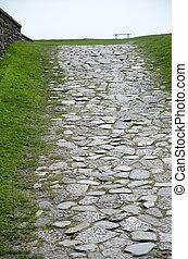 Ancient foot path