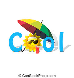 cool - summer, cool, sun, offer, cool offer, colorful,...