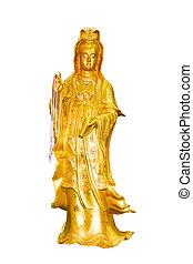Gold Quan-Yin