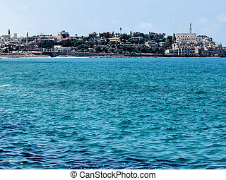 Jaffa view from Tel Aviv