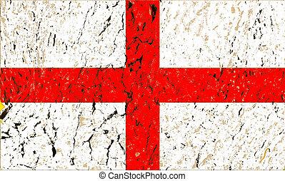 England grunge flag background