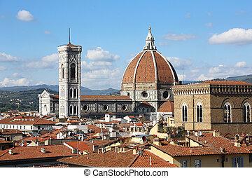 Florence Cathedral - the Basilica di Santa Maria del Fiore,...