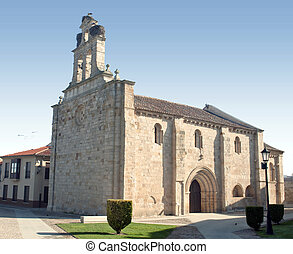 Romanesque church - Church of Zamora on the time of...