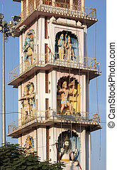Pushkar - architectural detail in Pushkar, located in...