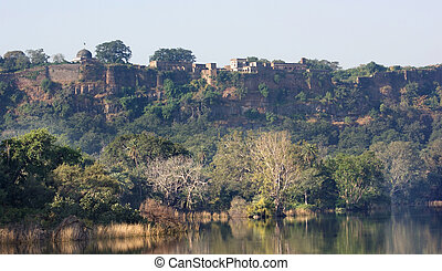 Ranthambore National Park - Scenery at the Ranthambore...