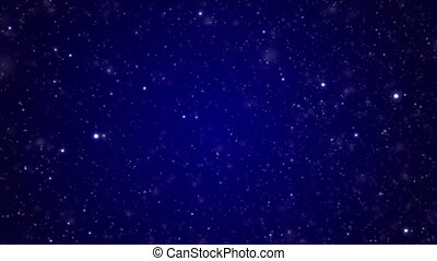 Space star background of dark blue color