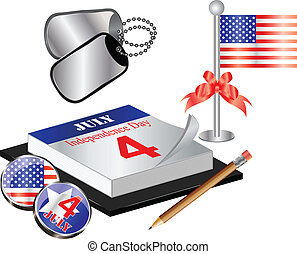 Collection for 4th july - Vector Collection for 4th july...