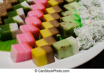 Malay traditional dessert - Malay colourful traditional...