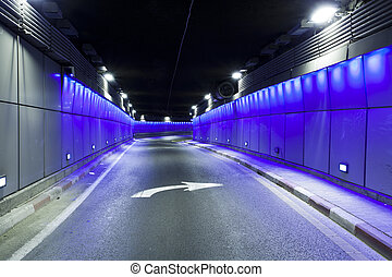 Tunnel  - Urban highway road tunnel
