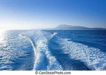 Denia, Alicante, nas, Mongo, Montaña, vista, mar