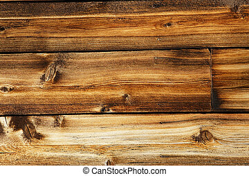 Great weathered wood background - Weathered wood plank of an...