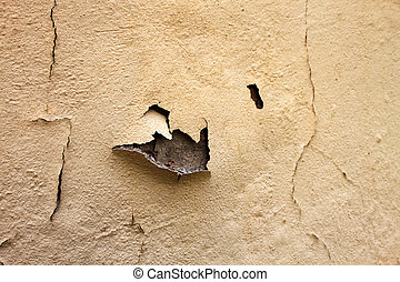 Home Repair Maintenance Water Damaged Peeling Paint - Water...