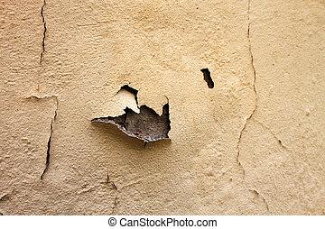 Home Repair Maintenance Water Damaged Peeling Paint - Water...