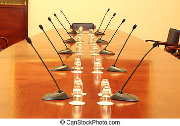 conference room - Photo of empty conference room with...