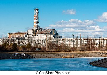 The Chernobyl Nuclear Power Plant at March, 2012 - The...