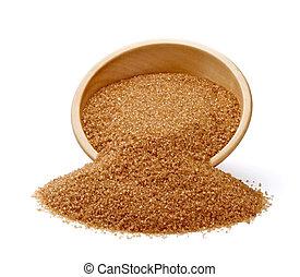 brown sugar sweet ingredient food - close up of brown sugar...