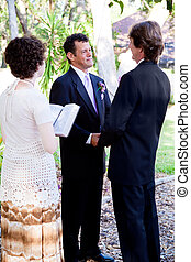 Gay Marriage - Saying Vows