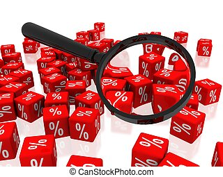 search red cube percentage