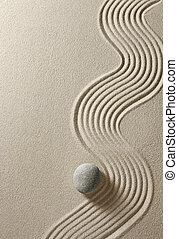zen, pietra