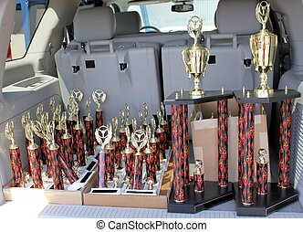 Car Show Trophies - These are the awards that will be given...