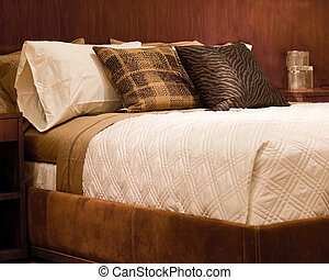 Contemporary Bedding - Bed in contemporary setting