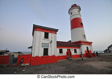 Jamestown Lighthouse, Accra, Ghana - Jamestown Lighthose, in...