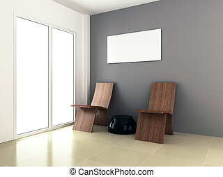 3d rendering for room interior design