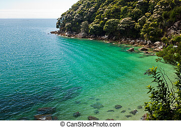 Tranquil bay in Abel Tasman NP, New Zealand