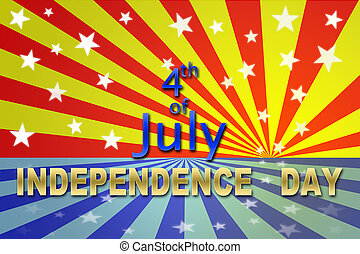 Independence 4 July - USA Independence day 4 July for...