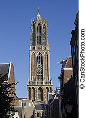 Dom Tower of Utrecht, Holland - The tower of the Dom...