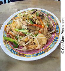 Hokkien(Fujian), styl, smażył, makarony