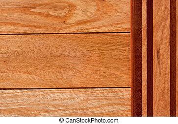 Wood Paneling - Wood paneling