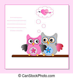 vector-image-work-24 - Cartoon Owl (vector version)