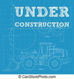 Under construction - Vector illustration of under...