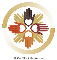 United loving hands design
