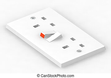 Plug Socket Illustration