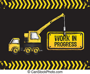crane design - crane design, work in progress, vector...