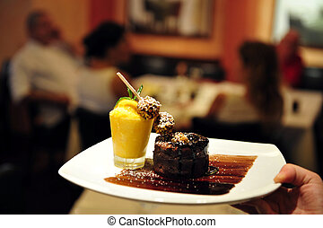 Food and Cuisine - Restaurant - Prepared food on a table in...