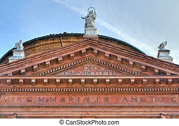 Church of St. Carlo. Ferrara. Emilia-Romagna. Italy.
