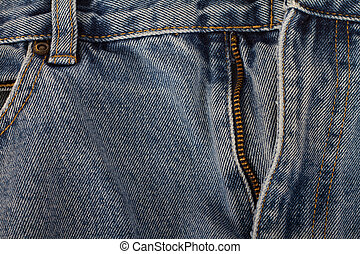 Denim Jeans - worn Denim Jeans