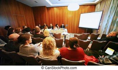 Company Clifford Capital holds presentation Barvikha Sea...