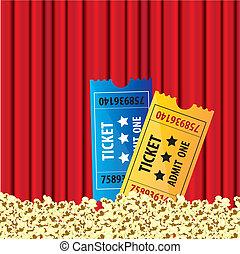 background Curtain movie