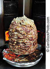 Food and Cuisine - Shawarma - Shawarma - a popular dish in a...