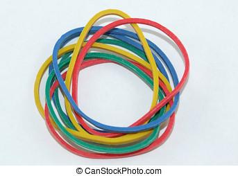 Elastic Bands - Colorful Elastic Bands