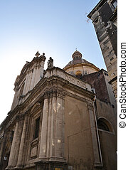Church Baroque Catania