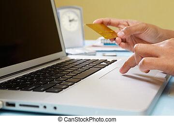 Using e-commerce